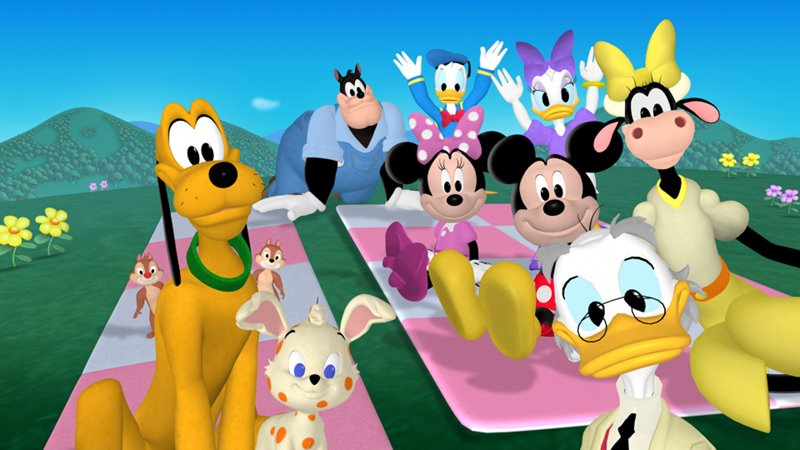 Na Categoria A Casa Do Mickey Mouse   Playhouse Disney Channel   Leave